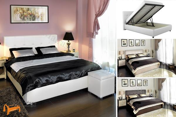 Кровать аскона с подъемным механизмом