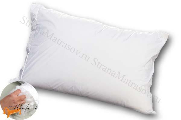 Аскона - подушка Аскона Protect-A-Bed с защитной наволочкой 50 х 70см