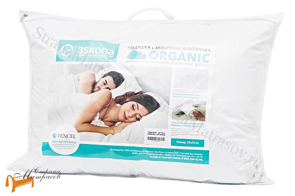 Аскона Подушка Organic , искусственный пух