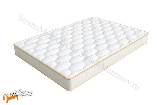 Аскона Матрас HomeSleep Vestа 550 (5 ZoneFlex) , односторонний, кокос, лён, пружинный, независимые