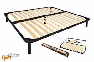 Lonax - Основание для кровати разборное металлическое ДРИМ с ножками