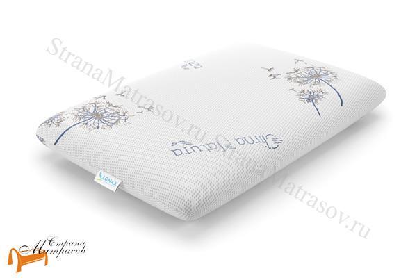 Lonax Подушка Clima Natura Latex 66 х 47 см , микрокапсулы, охлаждение