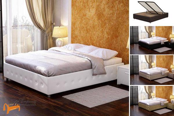 Орматек -  Орматек Кровать Como 4 Base с подъемным механизмом (Комо 4 Бэйс )