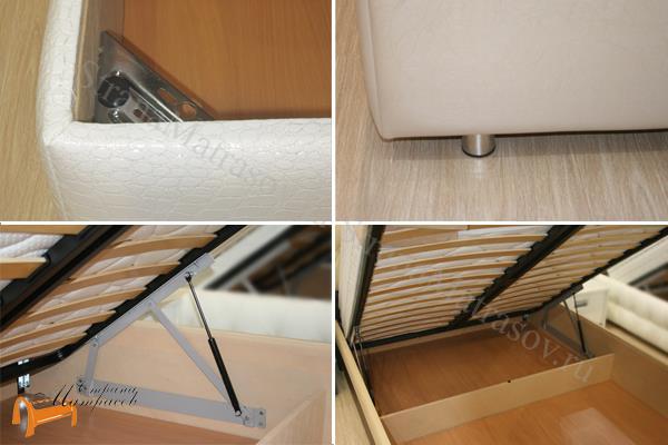 Орматек Кровать Como 1 с подъемным механизмом , ящик