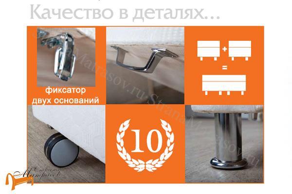Орматек Основание для кровати Motel Home для гостиниц и пансионатов (для дома) с ножками , кровать мотел, для отеля