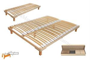Орматек - Основание для кровати березовое Мультиламель с ножками