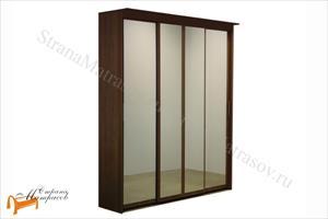 Орматек - Шкаф 4-х дверный - купе Эконом (глубина 450мм) с 4 зеркалами