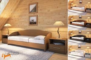 Орматек - детская кровать (подростковая) Этюд Софа с основанием