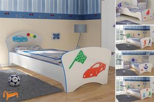 Орматек - Кровать Соната Kids (для мальчиков) с основанием