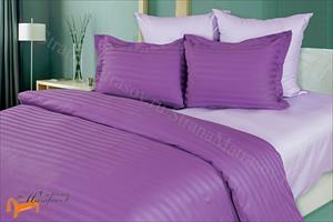 Орматек - Комплект постельного белья Страйп - сатин Lavender