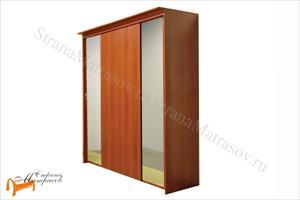 Орматек - Шкаф 4-х дверный - купе Эконом (глубина 600мм) с 2 зеркалами