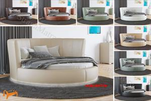 Орматек -  Круглая кровать Luna с основанием