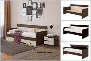 Орматек - Кровать Milton - софа с основанием
