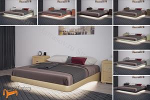 Орматек - Кровать Парящее основание с ламелями