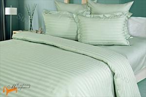 Орматек -  Комплект постельного белья Gravity Страйп-сатин Wild Mint