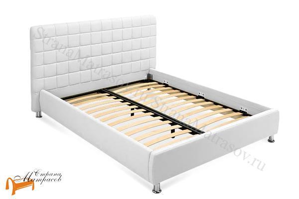 Орматек Кровать двуспальная Corso 3 , корса 3, белая, белый, каркас, коркас, экокожа, люкс