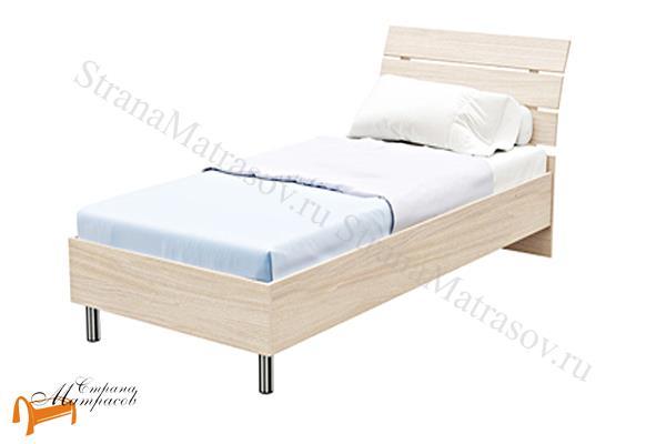 Орматек Кровать Rest 1 с основанием , кровать орматек из ЛДСП, кровать на ножка. резное изголовье, без основания,