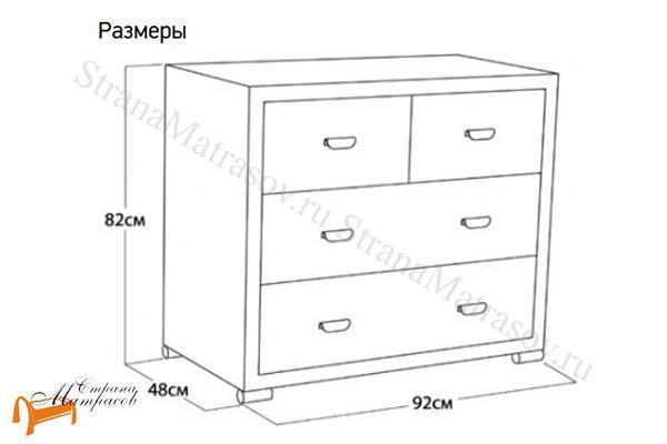 Орматек Комод Orma Soft 2 (4 ящика)