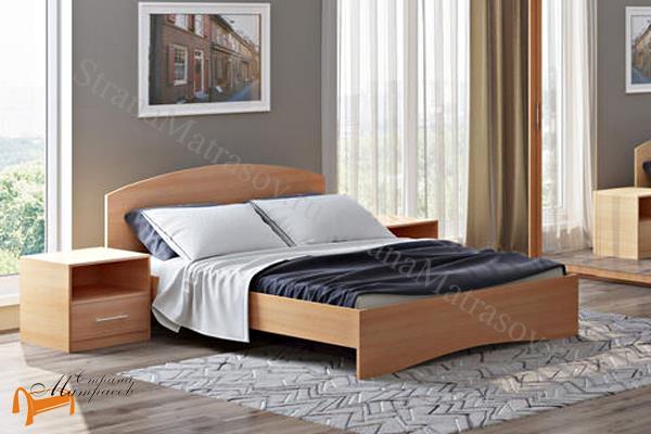 Орматек Детская кровать (подростковая) Этюд  с основанием , лдсп, бавари, ноче гварнери, ноче мария луиза, венги, французский орех, итальянский орех, белый