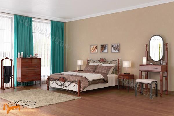 Орматек Тумба прикроватная Garda 2R , металл, гарда, дерево гевеи, дерево березы, белая, венги, коричневая, орех