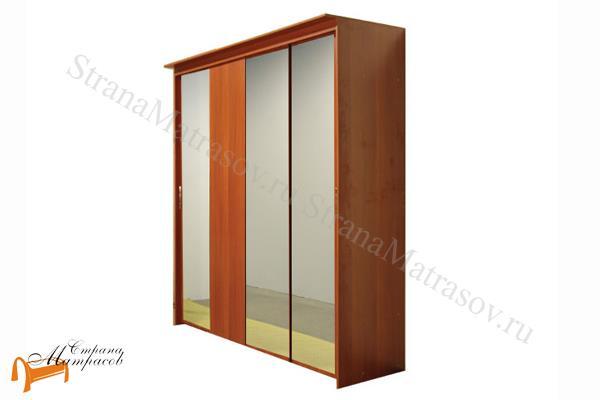 Орматек -  Орматек Шкаф-купе Эконом 4-х дверный (глубина 450мм) с 3 зеркалами