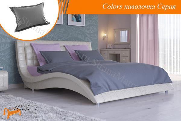 Орматек Наволочка Colors 50 х 70 см , из сатина , 100% хлопок, голубая, белая, бежевая, желтая, розовая, салатовая. Орматек, собрать комплект по цвету.