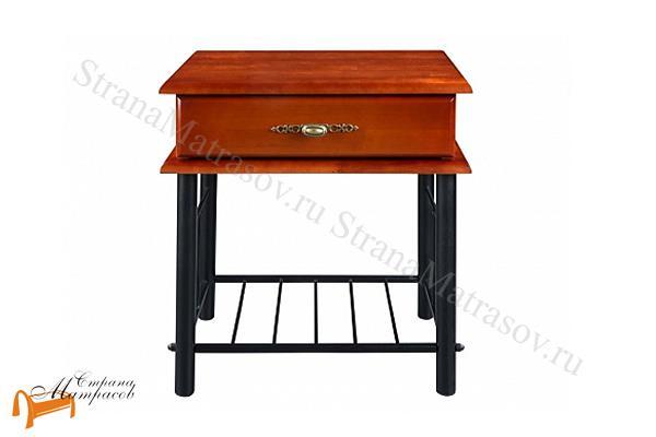 Орматек Тумба прикроватная Garda 2R , гарда, береза, ящик, тумбочка, орех, металл, белая, красная, венги, коричневая