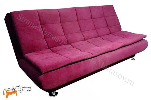 Орматек Диван Easy Light Middle (с ортопедическим матрасом) , бельевой ящик, искусственный латекс,  белый, бежевый, коричневый, синий, розовый, фиолетовый