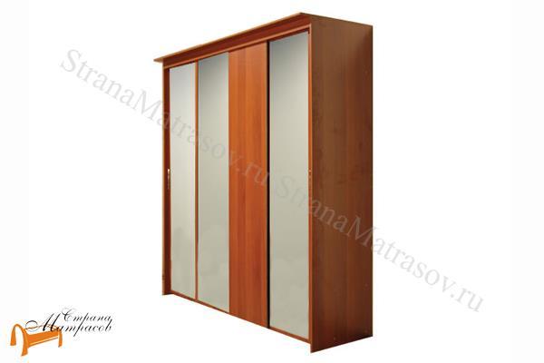 Орматек -  Орматек Шкаф-купе Эконом 4-х дверный (глубина 600мм) с 3 зеркалами