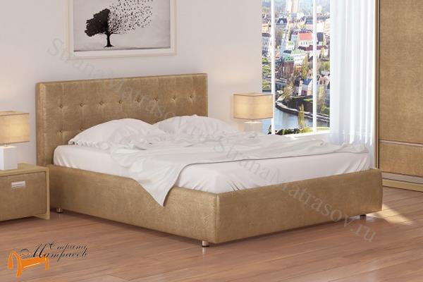 Орматек Кровать Como 1 с подъемным механизмом , экокожа, ткань, рогожка, велюр, золото, олива, белый, чёрный, кремовый, бежевый, коричневый, зеленый, ящик