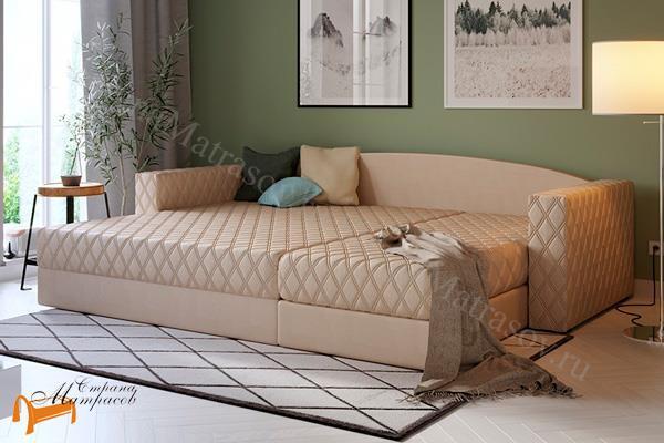 Орматек Диван Ergonomic ambition (угловой диван) (с ортопедическим матрасом) , мягкая мебель, велюр, раскладывается, тип аккордеон, зеленый, белый, кремовый, желтый, черный, коричневый, лимонный, бежевый, красный, голубой