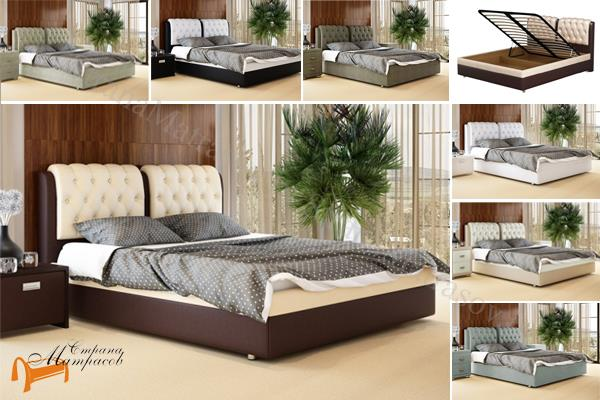Орматек -  Орматек Кровать Como 5 с подъемным механизмом (Комо 5)