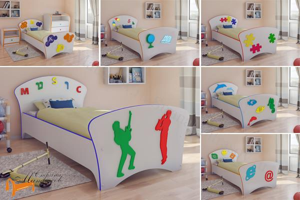 Орматек - детская кровать Орматек (подростковая) Соната Kids (для мальчиков и девочек) с основанием
