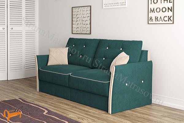 Орматек Диван Synergy Compact (с ортопедическим матрасом) , диван, кровать, мягкая мебель, пружинный блок, беспружинный блок, велюр, раскладывается, тип раскладушка