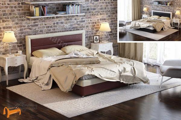 Орматек -  Орматек Кровать двуспальная Life 2 с основанием (Лайф 2)