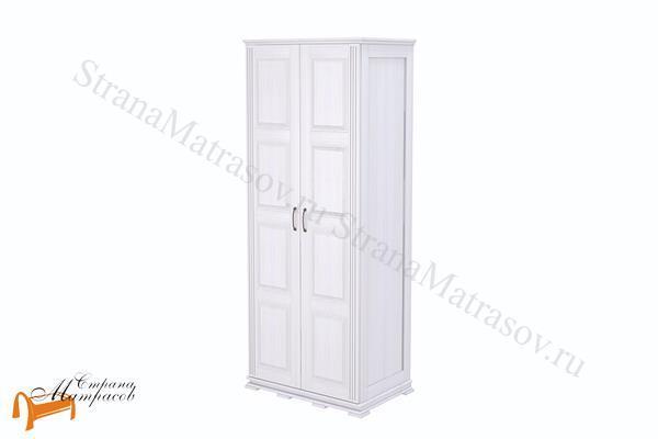 Райтон Шкаф 2-х дверный Milena (глубина 620 мм) , натуральное дерево, классика, сосна, береза, Орех, венге, красно-коричневый, слоновая кость, белая эмаль, милена