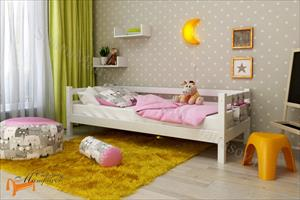 Райтон - Детская кровать Отто 2 со спинкой и основанием