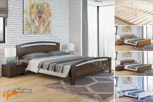 Райтон - Кровать Веста 1М - R с основанием