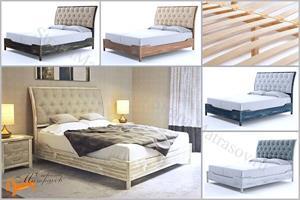 Райтон - Кровать Lester Antic с основанием