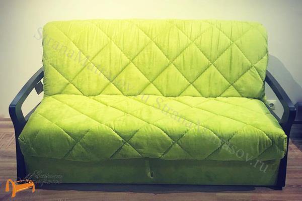 Райтон Диван Mango Middle , береза, массив, аккордеон, велюр, раскладной диван, анатомический массаж