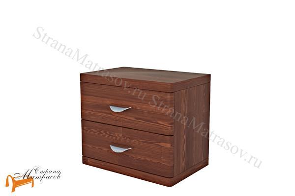 Райтон Тумба Dakota (2 ящика) , натуральное дерево, классика, сосна, Орех, венге, красно-коричневый, слоновая кость, белая эмаль, ящик