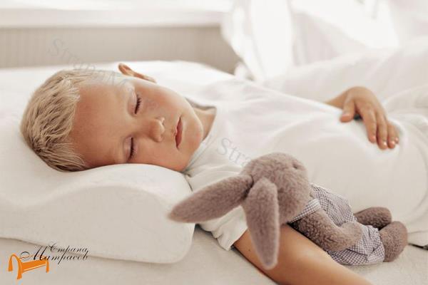 Райтон Подушка детская Синтия 32 x 50см , материал с эффектом памяти, Memorix, подростковая, ортопедическая