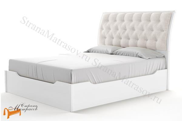 Райтон Кровать Lester с подъемным механизмом , лестер, деревянная, массив, карельская сосна, серый, желтый, коричневый, черный, с подъемным механизмом