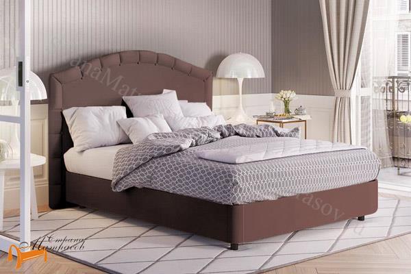 Райтон Кровать RaiBox Kapella с подъемным механизмом , велюр, веллсофт, экокожа, ящик, белый, серый, черный, коричневый, бежевый