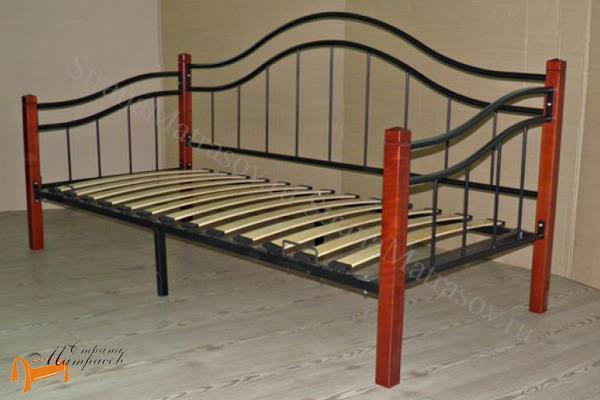 Райтон Детская кровать (подростковая) Garda 8R - софа с основанием , металл, гарда, дерево гевеи