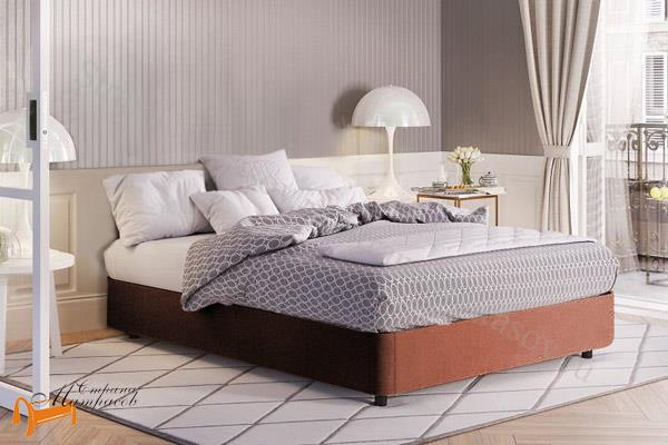 Райтон Кровать RaiBox с подъемным механизмом , велюр, веллсофт, экокожа, ящик, белый, серый, черный, коричневый, бежевый