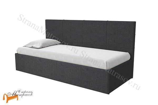 Райтон Кровать Life 1 софа с подъемным механизмом , экокожа, ткань, коричневый, белый, бежевый, черный, лайф, серый, зеленый, спинка