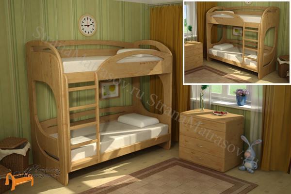 Торис -  Торис Кровать подростковая двухъярусная Миа 3 и Миа 4