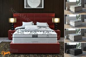 Verda - Кровать Chocolate с основанием Island M