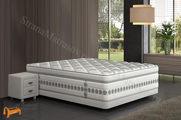 Verda Основание для кровати Basement , сплошное, бэйсмент, для спальной системы верда, трикотаж, ткань велсофт, экокожа